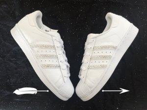 Adidas Superstar Swarovski Edition Glitzer Blogger Silvester Weihnachten NEU