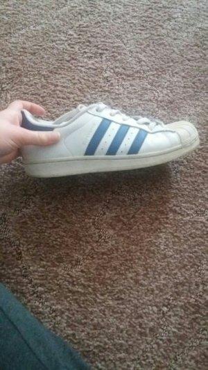 Adidas Superstar Weiß/Blau