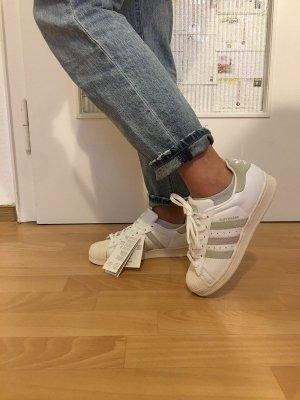 Adidas Superstar weiß pastell