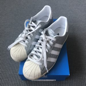Adidas Superstar weiß/ Silber