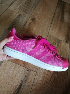 Adidas Originals Lace-Up Sneaker white-pink