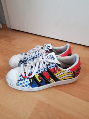 Adidas Superstars Comic Style