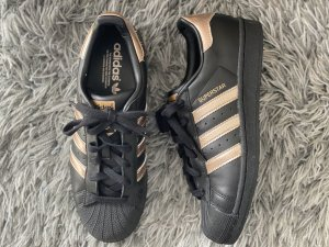 Adidas Originals Sneaker stringata nero-color oro rosa Pelle