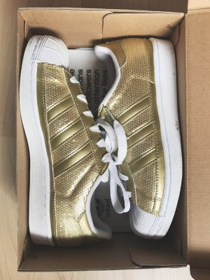 Adidas Superstars Gold Pailletten