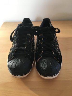 Adidas Superstars in Leoprint, Gr. 36 2/3