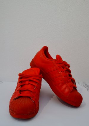 Adidas Superstars, rot