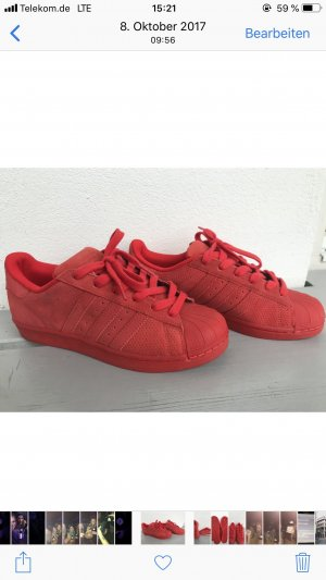 Rot Adidas Adidas Superstars Adidas Rot Superstars Superstars QxBChrdts