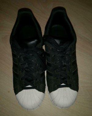 Adidas Superstars Schwarz Glitzer 37 1/3