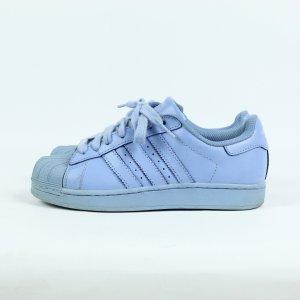 ADIDAS Superstars Sneaker Gr. 39 hellblau (19/10/164)