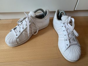 Adidas Lace-Up Sneaker white leather