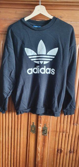 Adidas Originals Sweatshirt blanc-noir