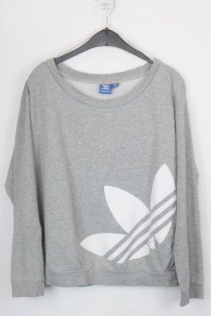 Adidas Sweater G. 36 grau/weiß (18/5/367)