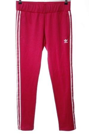 Adidas Sweathose rot Casual-Look