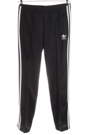 Adidas Sweathose schwarz-weiß Casual-Look