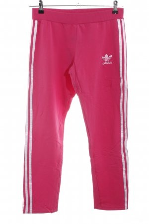 Adidas Pantalone fitness rosa stile casual