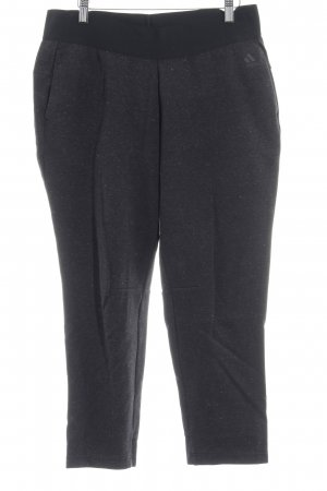 Adidas Pantalón deportivo gris oscuro moteado look casual