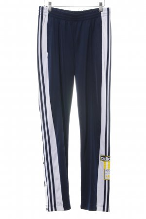 Adidas Sweat Pants blue-white simple style