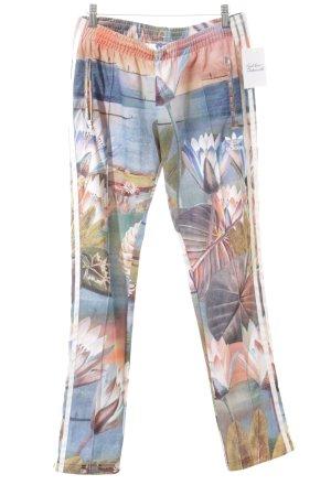 Adidas Sweathose florales Muster sportlicher Stil