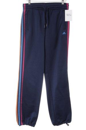 Adidas Sweathose Streifenmuster sportlicher Stil
