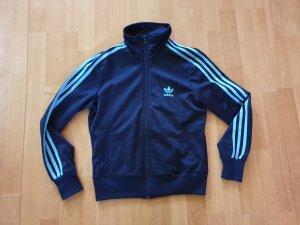 Adidas Giacca sport blu Poliestere
