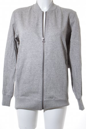 Adidas Sweat Jacket light grey casual look