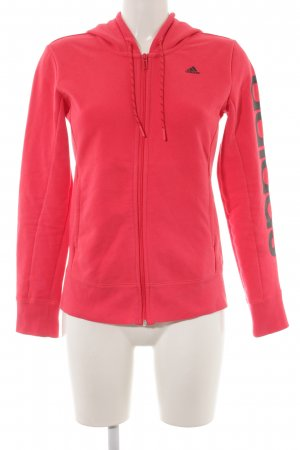 Adidas Sweat Jacket bright red athletic style