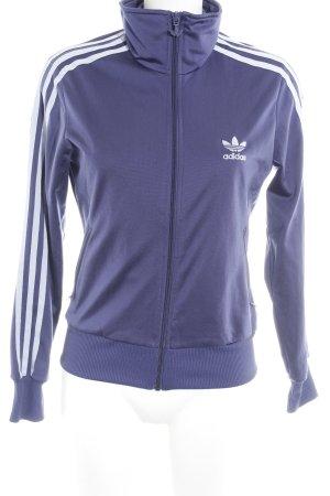 Adidas Sweatjacke lila-blasslila sportlicher Stil