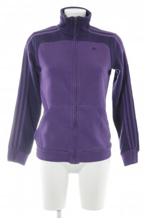 Adidas Giacca fitness lilla-viola scuro stile atletico