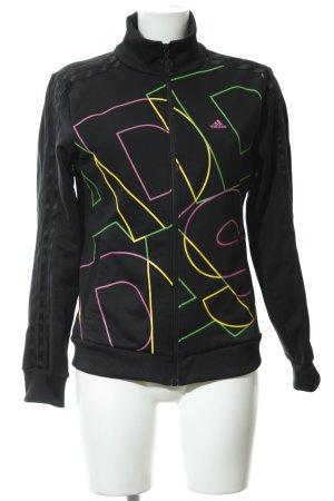 Adidas Sweatjacke Monogram-Muster Casual-Look