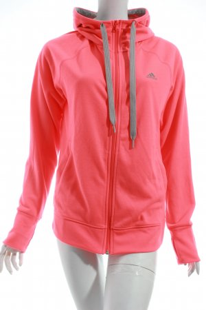Adidas Sweatjacke pink Casual-Look