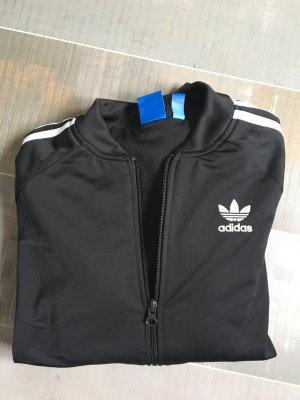 Adidas Sweatjacke schwarz / weiß Gr. 40