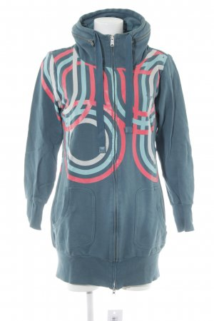 Adidas Sweatjacke Streifenmuster Street-Fashion-Look
