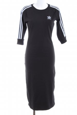 Adidas Sweat Dress black-white casual look