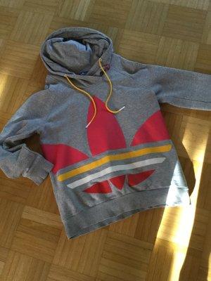 Adidas Suéter gris claro-rosa