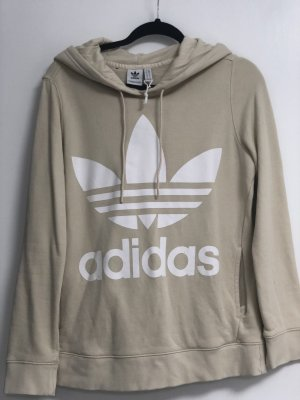 Adidas Sweatshirt beige Gr M