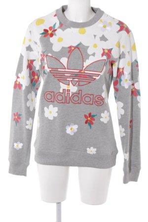 Adidas Sweatshirt Blumenmuster sportlicher Stil