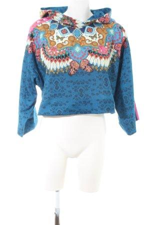 Adidas Sweatshirt Blumenmuster Casual-Look