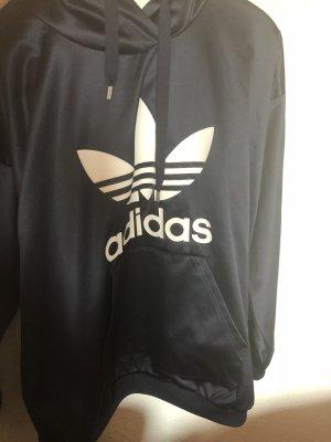 Adidas Originals Hooded Sweatshirt dark blue