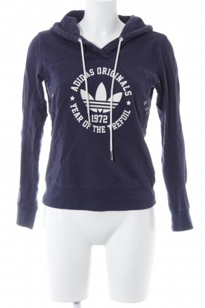 Adidas Sweatshirt dunkelblau Casual-Look