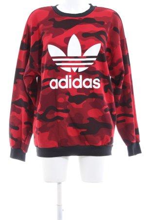 Adidas Sweatshirt Camouflagemuster Casual-Look