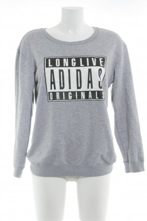 Adidas Sweatshirt grau Casual-Look