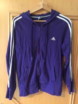 Adidas Veste de sport violet foncé