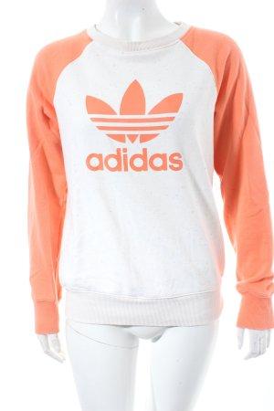 Adidas Sweatshirt mehrfarbig College-Look