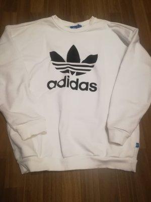 Adidas Originals Felpa bianco-nero