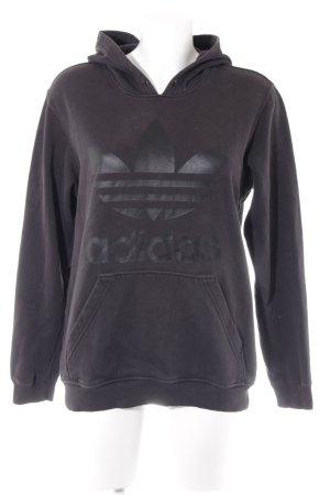 Adidas Sweatshirt schwarz sportlicher Stil