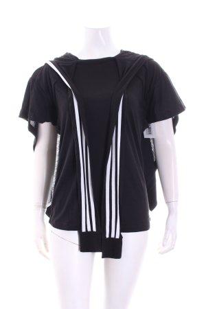 Adidas Sweatshirt schwarz-weiß sportlicher Stil