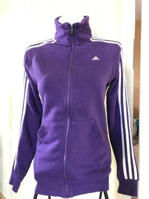 Adidas Sweatshirtjacke Gr S Lila