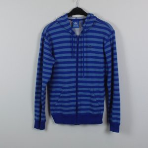 Adidas Sweat Jacket blue-slate-gray mixture fibre