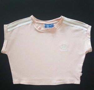 Adidas Cropped Shirt white-pink