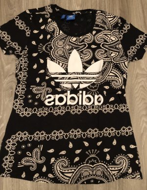 Adidas Long Shirt black-white